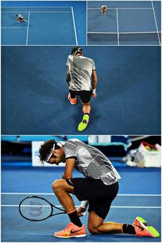 Roger Federer after winning his 18th major @ Aus Open 2017