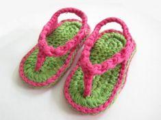 Sandalias a crochet para niñas y niños | De todo Niños