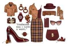 """Professor"" by blackdoor ❤ liked on Polyvore featuring New Look, Marni, David Webb, Miu Miu, Chopard, Irene Neuwirth, Belstaff, Brooks Brothers, Chloé and Native Union"