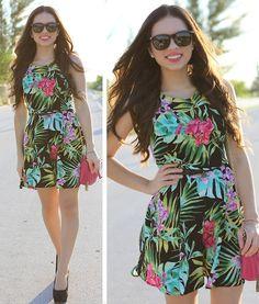 Love Dress, Remi And Emmy Bag, Payless Shoes, Furor Moda Sunglasses - Tropical attitude! - Daniela Ramirez