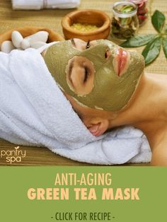 This anti-aging mask comes from China, with ingredients like Green Tea powder and white tea. To thicken the formula, just increase the amount of powder!