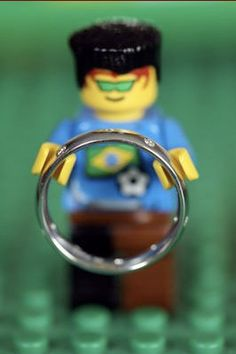 Even the Lego people deserve their moment. #BlueNile #Wedding This will definitely be part of our wedding.