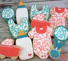 Baby Sugar Cookies Sweet17Cookies.Etsy.com