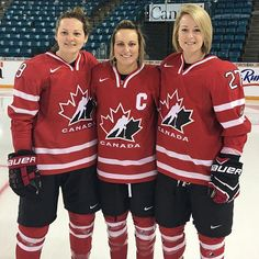 Three women's hockey alumnae played for Team Canada at the 2016 IIHF Women's World Championships. Marie-Philip Poulin (CAS'15) captained the team and was joined by graduates, Jenn Wakefield (CAS'12) and Tara Watchorn (SAR'12).