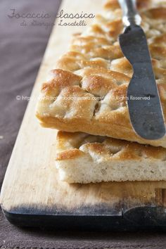Focaccia classica di Giorgio Locatelli - #pizza #recipe #food