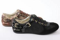 #GUESS #sneakers #black #brown #swag