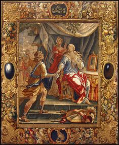 Story of Semiramis Description English: Design by Abraham van Diepenbeeck, done at Michel Wauters' atelier of tapestry, Antverp Date between 1627 and 1638