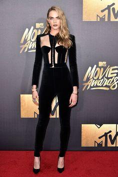 Cara Delevingne, MTV Movie Awards 2016, Red Carpet