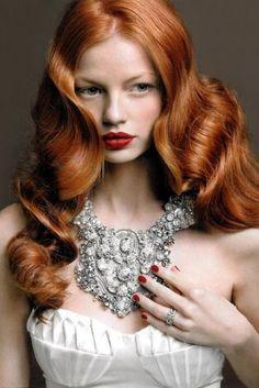 hair Hair Styles for Girls Wedding Hairstyles, Cool Hairstyles, Homecoming Hairstyles, Bridal Hairstyle, Style Hairstyle, Corte Y Color, Fantasy Hair, Beautiful Redhead, Gorgeous Hair