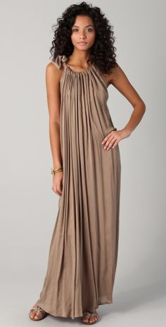 Theona Gathered Maxi Dress by reva