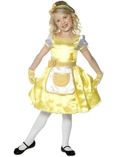 goldilocks childrens costume34176 - Goldilocks Halloween Costumes