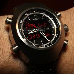 Omega Speedmaster Z-33 Pilot watch.