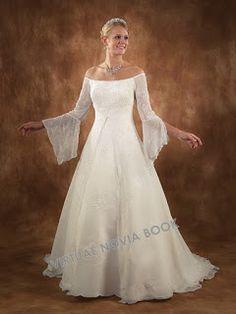 Vestidos de novia de estilo medieval