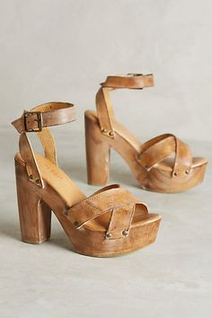 Bed Stu Madeline Platforms #anthropologie