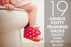 19 Brilliant Hacks That Will Make Potty Training So Much Easier #children #parents #mom #dad #prettyperfectliving