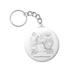 Employment Cartoon 9469 Keychain