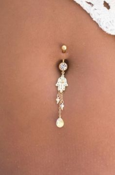 Black /& White Enamelled Butterfly Crystal Body Belly Navel Bar Gold Plated