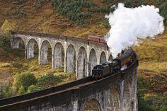 "west coast railways scotland ""harry potter train"" World's Best Family Train Trips : Family Travel : Travel Channel Harry Potter Welt, Hogwarts, Worlds Of Fun, Around The Worlds, Old Steam Train, Train Journey, Travel Channel, By Train, Scottish Highlands"