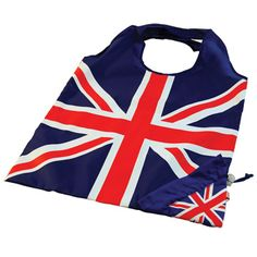 Foldable Shopping Bag - Union Jack