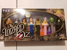 The Wizard Of Oz Anniversary Limited Edition Pez Dispenser Collector NIB Wizard Of Oz Collectibles, Wizard Of Oz Characters, Wizard Of Oz Quotes, Land Of Oz, Yellow Brick Road, 70th Anniversary, Tin Gifts, Judy Garland, Over The Rainbow