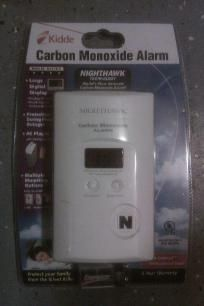 Worlds Most Accurate Carbon Monoxide Alarm. by Kidde. Nighthawk Large Digital display. *Free Shipping* http://yardsellr.com/yardsale/Erik-Marx-416944