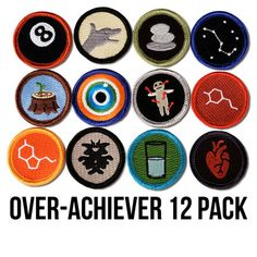Picture of More Alternative Merit Badges.