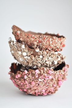 Edible Chocolate Bowls for Ice Cream ⋆ this heart of mine