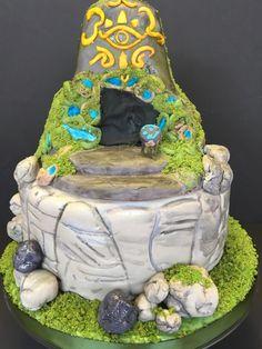 Tagged with gaming, zelda, cake, breathofthewild; Zelda Breath of the Wild birthday cake Zelda Breath Of Wild, Breath Of The Wild, 9th Birthday Parties, Themed Birthday Cakes, 7th Birthday, Zelda Cake, Cake Albums, Zelda Birthday, Little Man Birthday