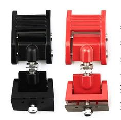 ICars Aluminum Hoods Catch Sets Pair Accessories Hood Latch Lock Anti Theft Kit Assembly Locks for Jeep Wrangler JK Unlimited 2 door 4 door Red 2007 2008 2009 2010 2011 2012 2013 2014 2015 2016 -- Awesome products selected by Anna Churchill