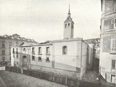 Catedral de La Almudena. Madrid, 1868.