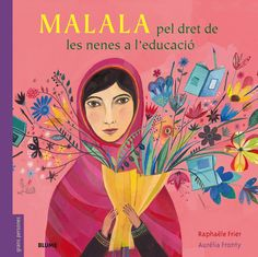 Malala: Activist for Girls' Education. By Raphaële Frier. by Auréia Fronty. A of the Nobel Peace Prize-winning activist describes how as a teen she was violently targeted by the Taliban for her efforts to secure educational rights for girls. Esther Garcia, Malala Yousafzai, Barack Obama, Mighty Girl, Right To Education, Album Jeunesse, Summer Reading Lists, Nobel Peace Prize, Portraits