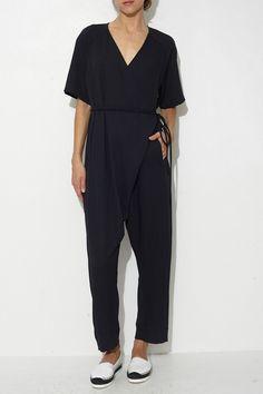 Black Dispatch Jumpsuit