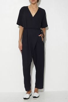 Black Dispatch Jumpsuit