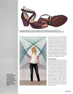 So happy because El Naturalista is featured in Spanish magazine Calle20