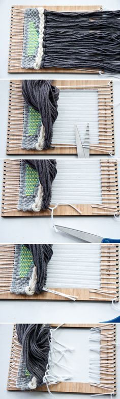 Cut Off Loom- how to use your Unusual Pear Loom|The Weaving Loom