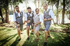 Grooms men and groom outfit