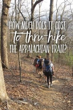 Appalachian Trail Costs & Budget – Mountains with Megan – image pin Backpacking Tips, Hiking Tips, Hiking Gear, Hiking Backpack, Camp Gear, Travel Backpack, Hiking Boots, Camping Bedarf, Camping With Kids