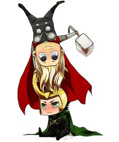 Loki doesn't like that! D: #Avengers #Loki #Thor