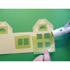 Kostenloser Download: Vorlage für ein einfaches Haus aus ...