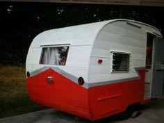 1963 Shasta Vintage Camper Travel Trailer Compact 12