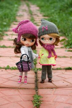 Ooak Dolls, Blythe Dolls, Girl Dolls, Baby Dolls, Pretty Dolls, Beautiful Dolls, Cute Cartoon Pictures, Little Doll, Button Art