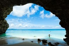 Sunayama Beach on MIyako Island, Okinawa (Japan)