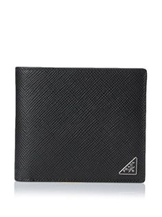 de8abf99a780 PRADA Prada Men'S Bifold Wallet. #prada #bags #leather #wallet #accessory