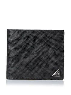 PRADA Prada Men'S Bifold Wallet. #prada #bags #leather #wallet #accessory