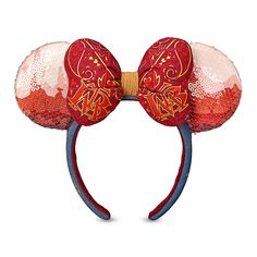 Minnie Mouse: The Main Attraction Ear Headband for Adults – Big Thunder Mountain Railroad – Limited Release   shopDisney