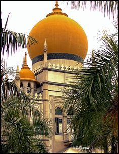 Sultan Masjid in SIngapore Les Philippines, Sultan Mosque, Art And Architecture, Mosque Architecture, Beautiful Architecture, Beautiful Buildings, Beautiful Mosques, Wanderlust Singapore, Singapore Travel