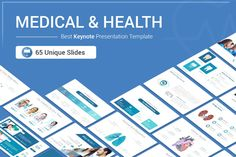 Medical and Health Keynote template for presentation reduces your work by supplying templates designed with busy entrepreneurs in mind. With 65 fully editable slides, the Pitch Deck Bundle provides you with the template you need to deliver...