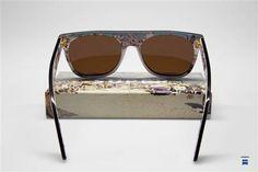 Super Flat Top - Black Riviera (Visiva) #retrosuperfuture #supersunglasses #sunglasses #supertr