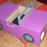Amazing Cardboard Box Vehicles (from BabyCenter Blog)