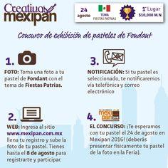Creativos Mexipan, donde mostrarás tu talento con el fondant y los temas tradicionales mexicanos.  #Mexipan #Mexipan2016 #fondant #pastel #cake #concurso #contest #tradición #traditional #Mexico #Mexicocity #expo #wtc #august